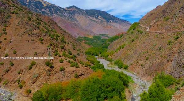 Hiking atlas mountains