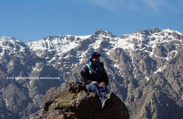 Morocco Toubkal ascent