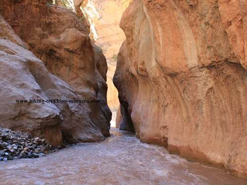 Mgoun canyon trek
